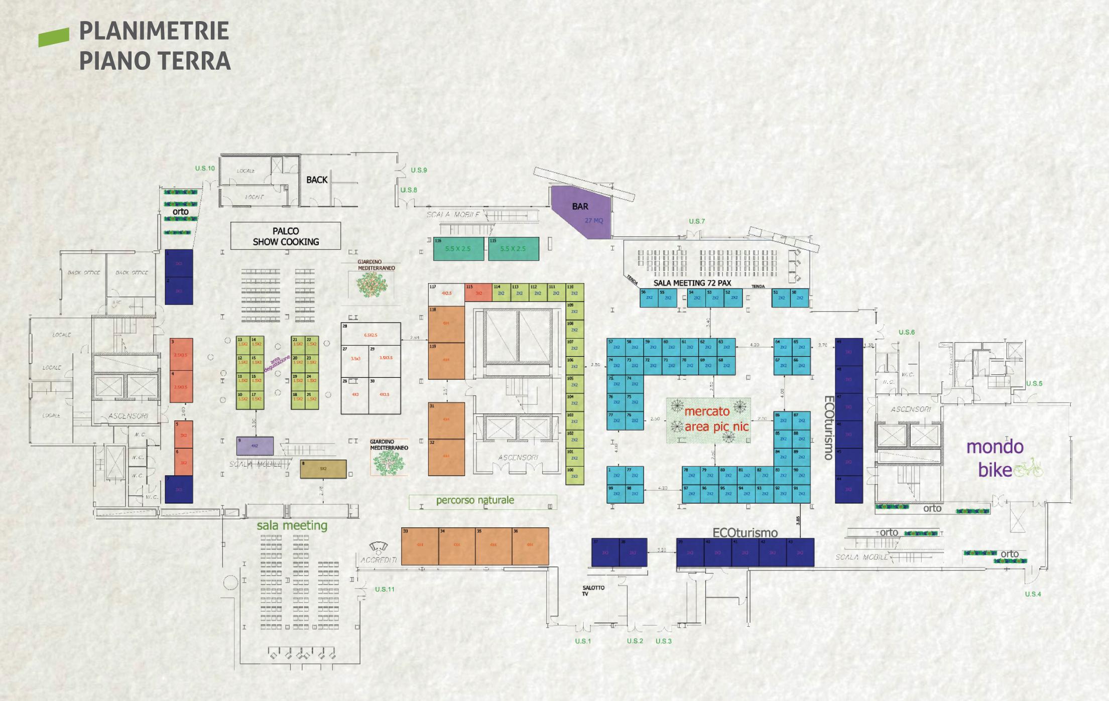 Expo Canapa Sud - Piano terra